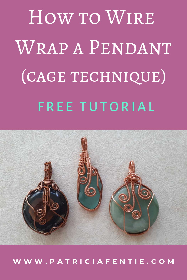 Photo of How to Wire Wrap a Pendant~FREE Tutorial