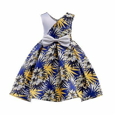 2018 Kids Baby Girls Toddler Sleeveless Princess Dress Party Dresses 2144 | eBay