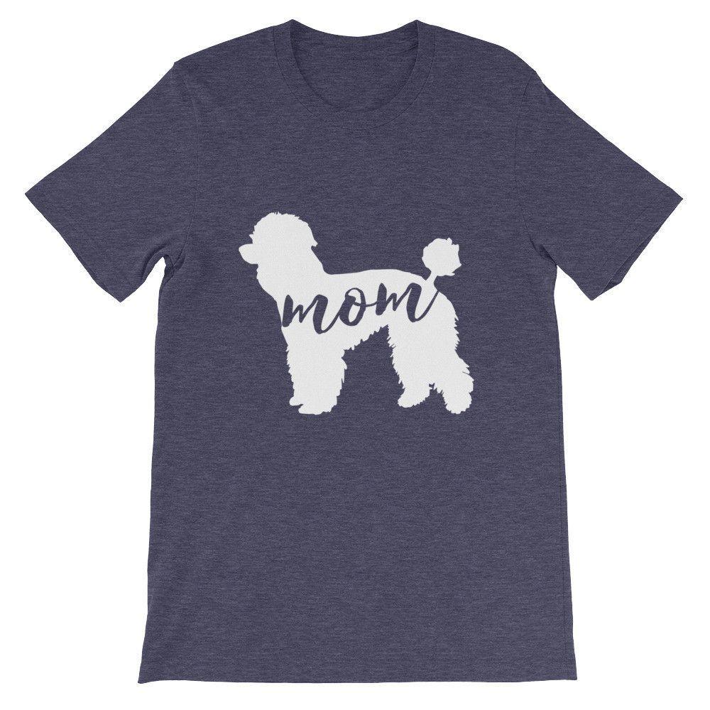 Poodle Mom - Unisex short sleeve t-shirt