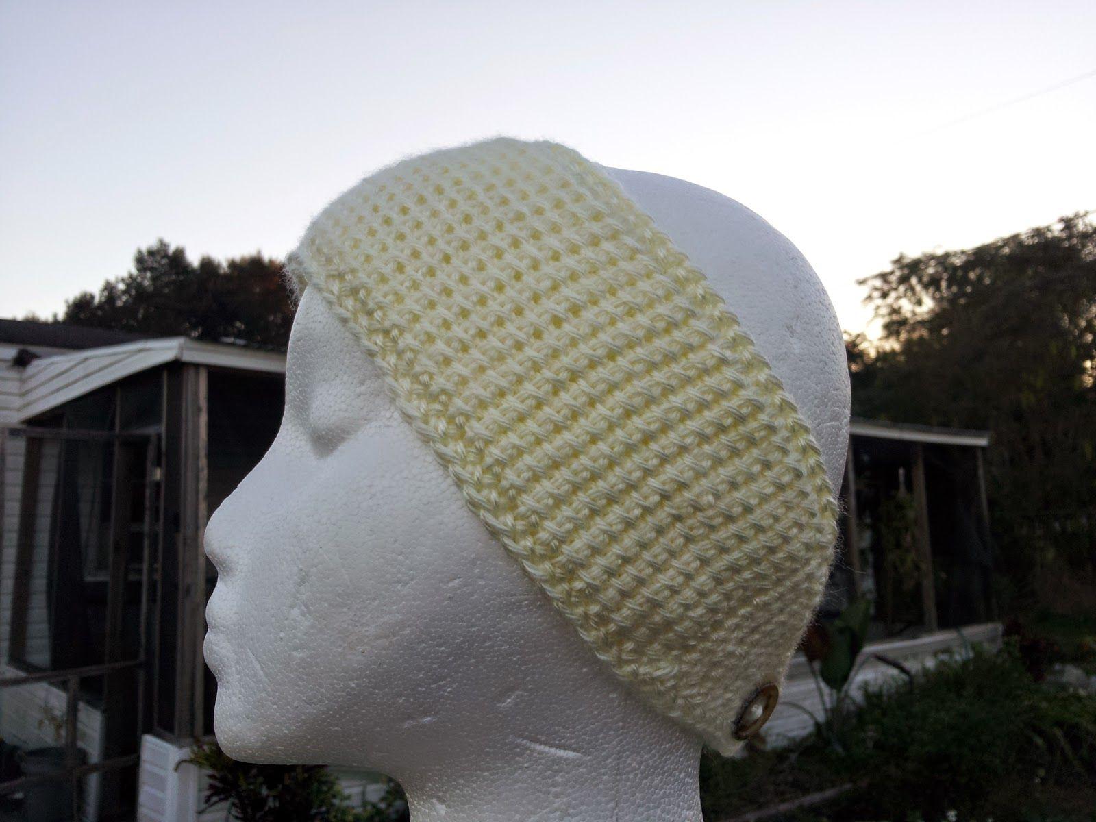Mommy Made Crochet: Tunisian Headwrap/Earwarmer | Crochet Head ...