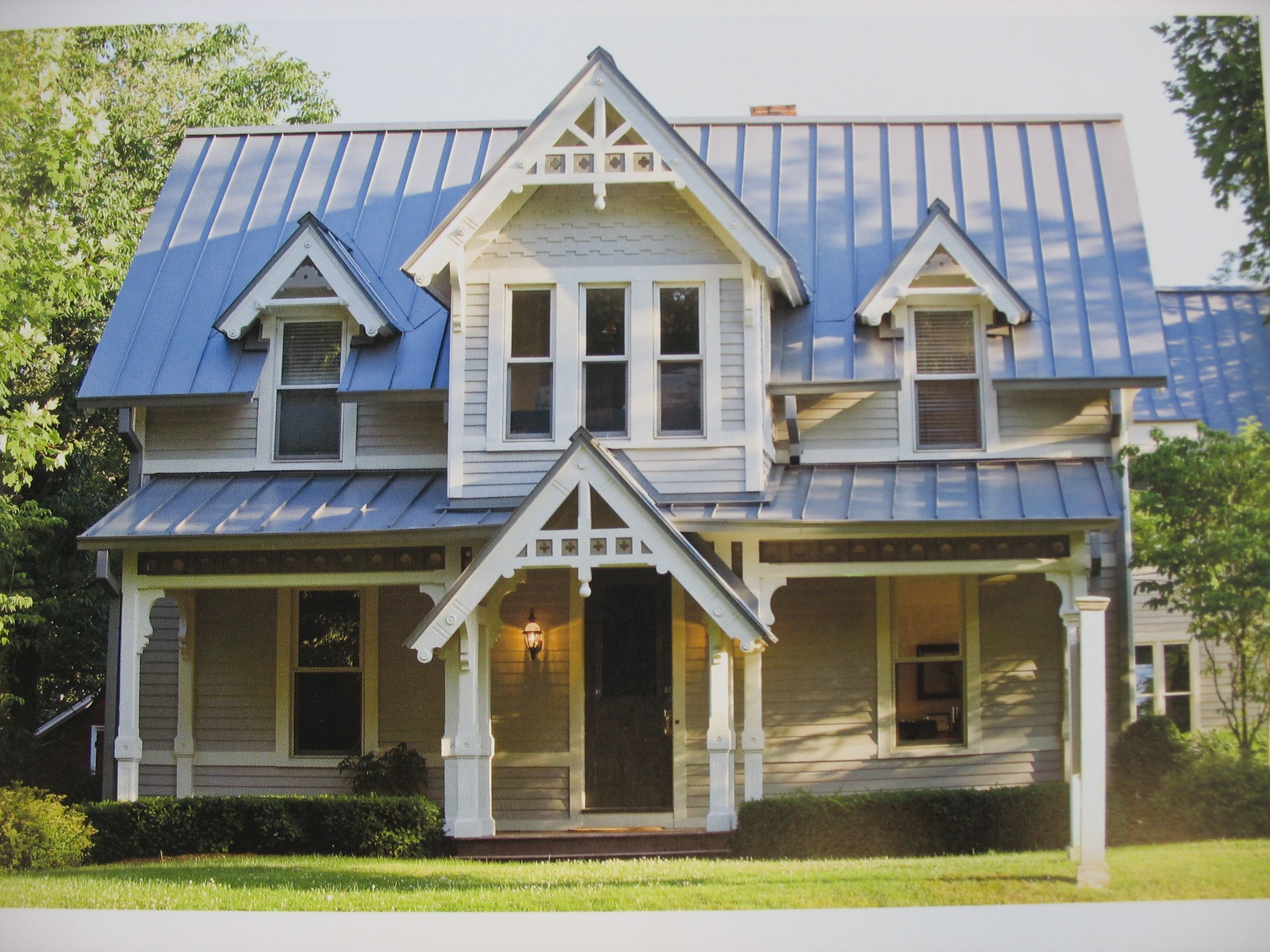 Farmhouse Exterior Colors With Metal Roof Raised Seam Metal Roof For The Home Pinterest Metal