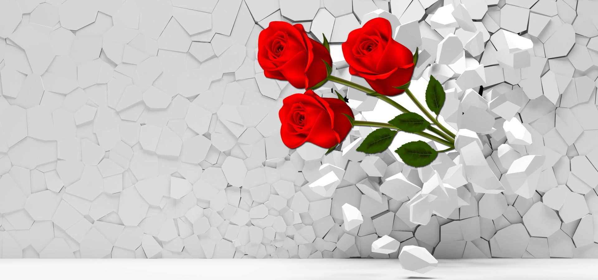 3d Roses Background In 2020 Flower Pattern Design Flower