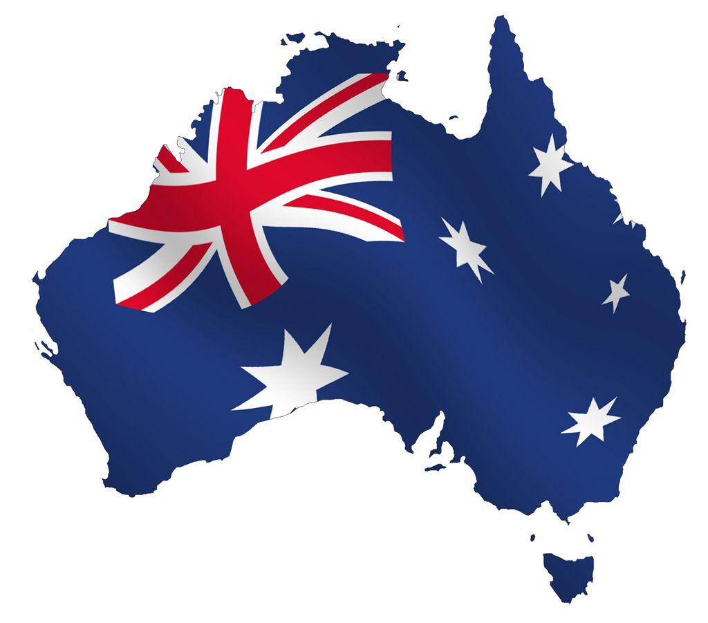Australia Map With The Australian Flag Happy Australia Day Australia Flag Australia Day