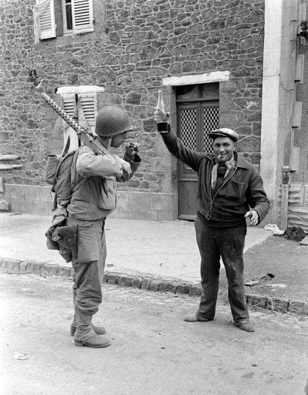 Coutances, Francia, 1944.