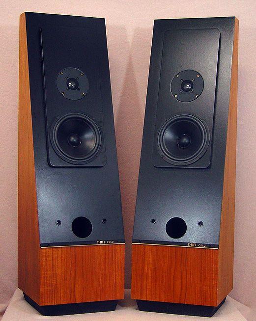 Thiel CS1 2 speakers | DIY Speakers | Home stereo speakers, Speaker
