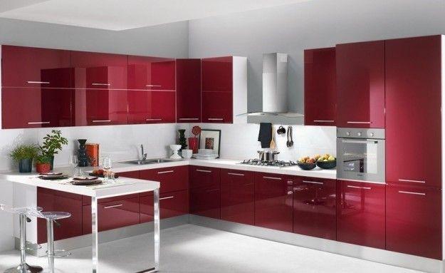 Idee per arredare una cucina moderna | Interni della cucina ...