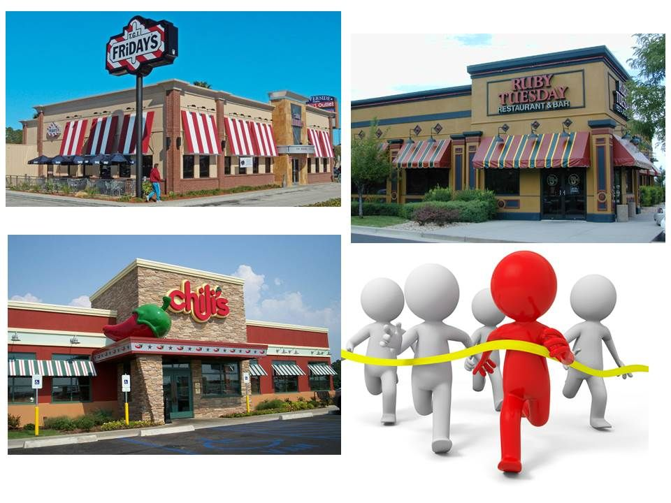 28 Applebee S Main Competitors The Competition Is Very Large In The Casual Dining Category Consumers Find Casual Dining Restaurant Ruby Tuesdays Tgi Fridays