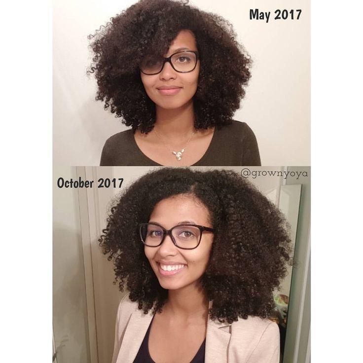 Natürliches Haar Yoya (Yoya so) Dies ist ein Wachstum von 5 Monaten. Haarwuchs Reise.#Eyes