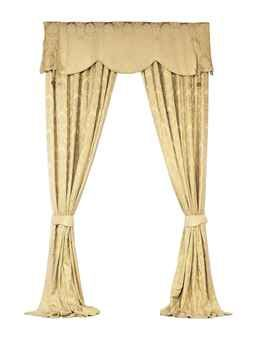 Modern Two Pairs Of Gold Damask Curtains Damask Curtains Curtains Damask