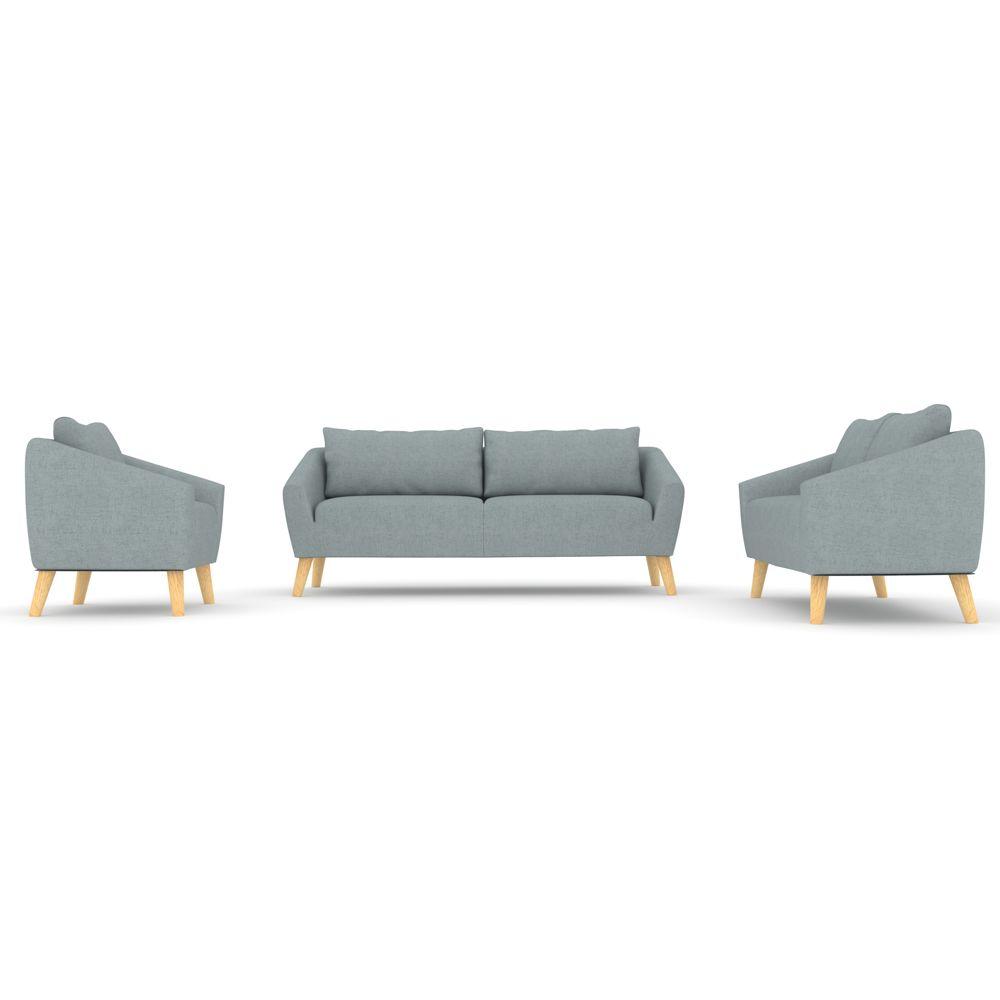 Buy Luxo Tvorup 6 Seater Scandinavian Sofa Setting Ash Grey Online Australia Scandinavian Sofas Sofa Bed Australia Scandi Style Sofas