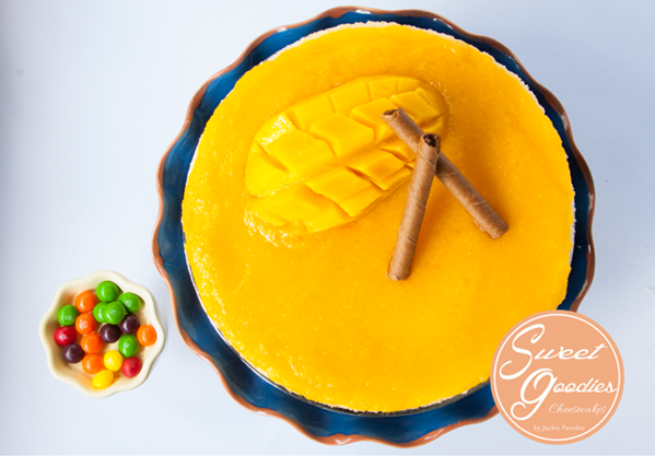 Mango Cheesecake It's a must try.