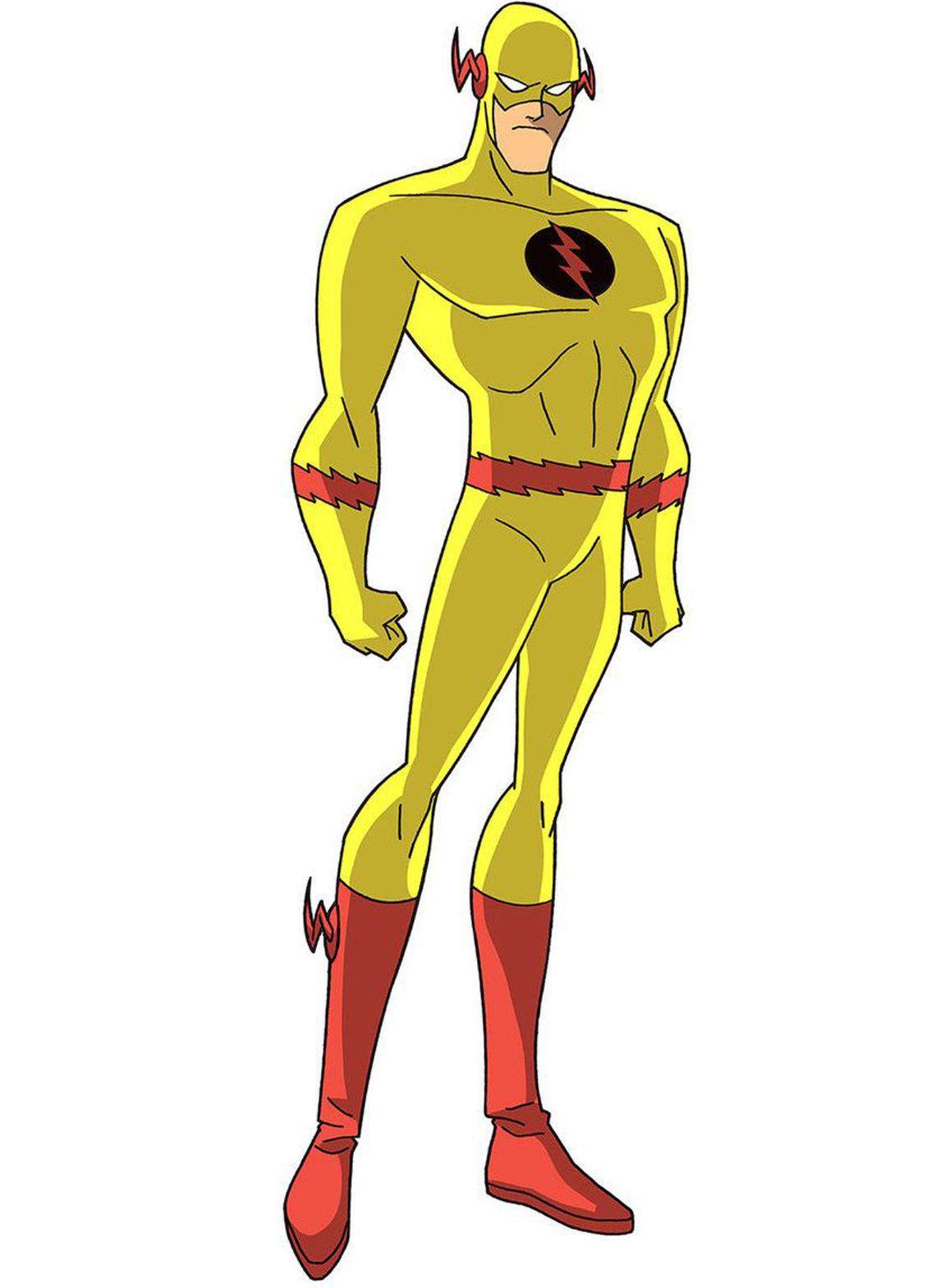 Flash Reverso Super herói, Herois, Flash reverso