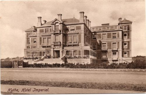 Hotel Imperial Hythe Kent Old Pictures Victorian Wedding County House