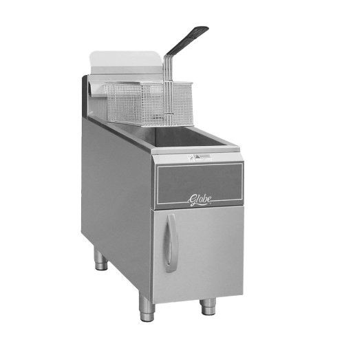 Globe Food Equipment Gf15 Countertop 15 Lb Fryer Check Out