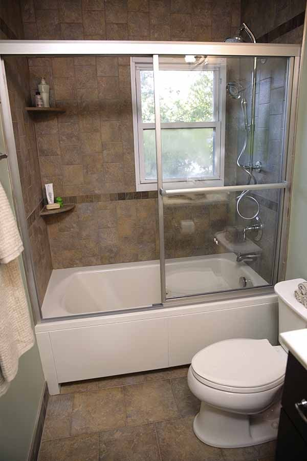 AFTER: The new bathtub shower and Stinson Toilet from Sterling ...
