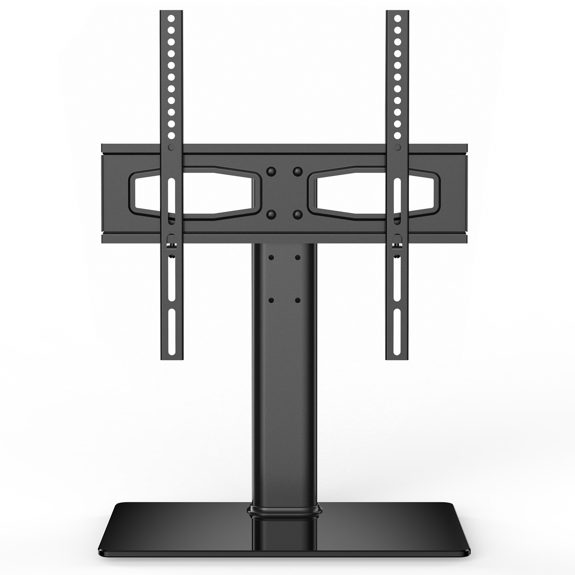 Universal Tv Stand Base Tabletop Tv Stand With Mount Up To 55in Flat
