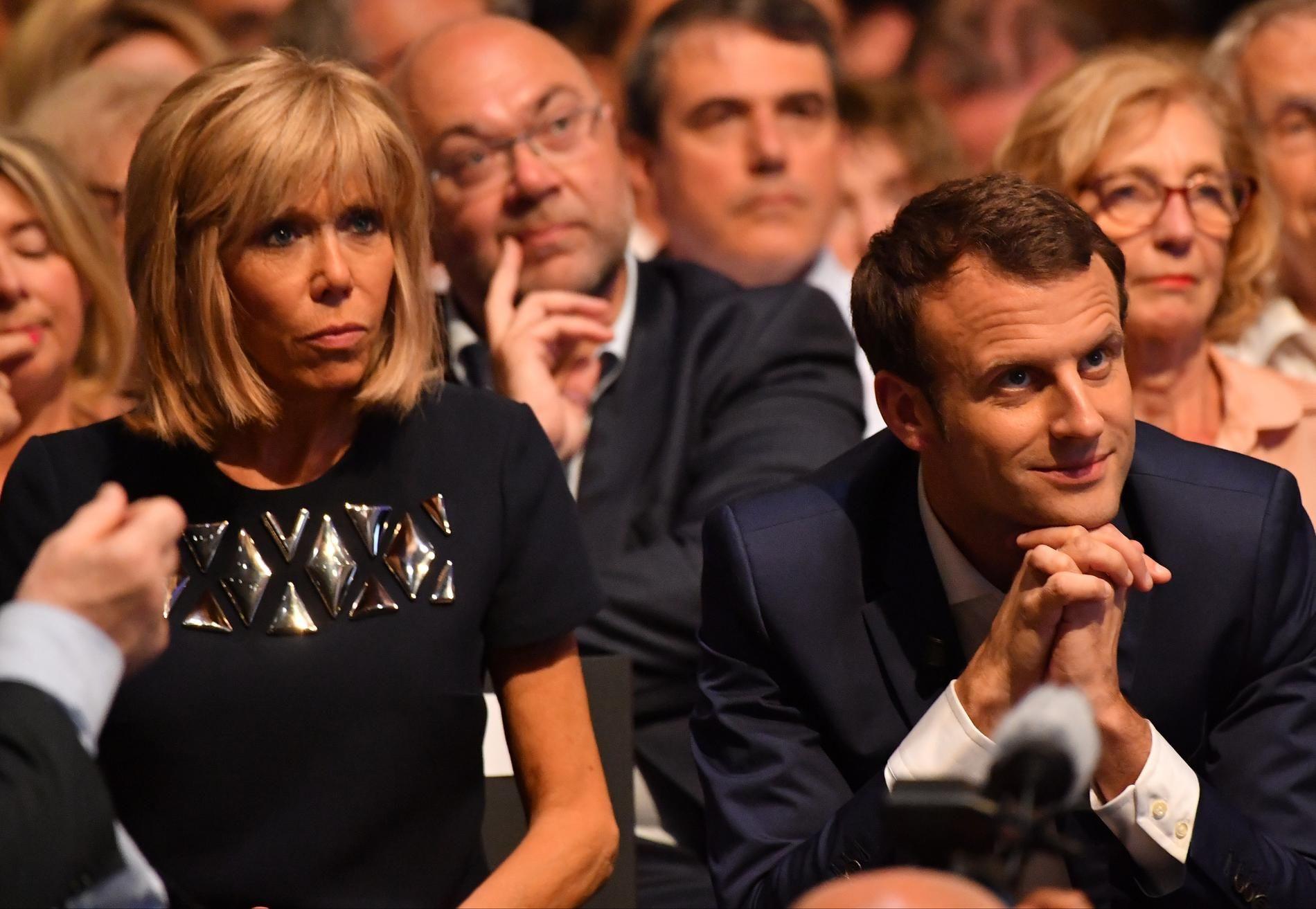 Emmanuel Macron et Brigitte Trogneux : des images de leur mariage ...