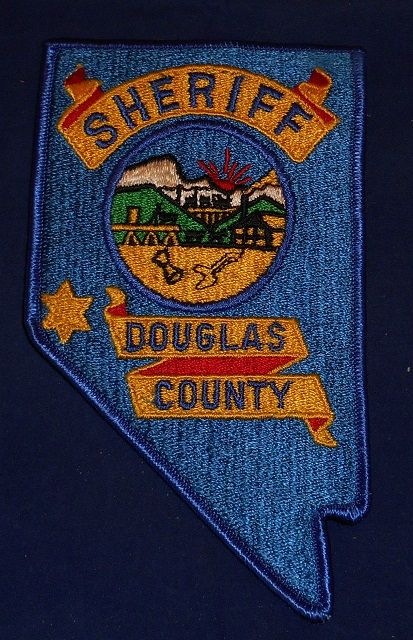 Douglas county Sheriff NV 1 | LE patches | Police patches