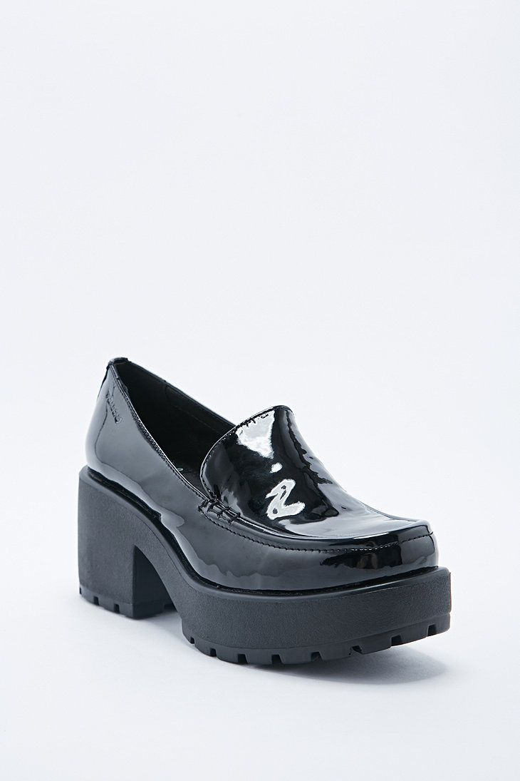 86ba661a287d Vagabond Dioon Patent Loafers in Black - I neeeeeeed these