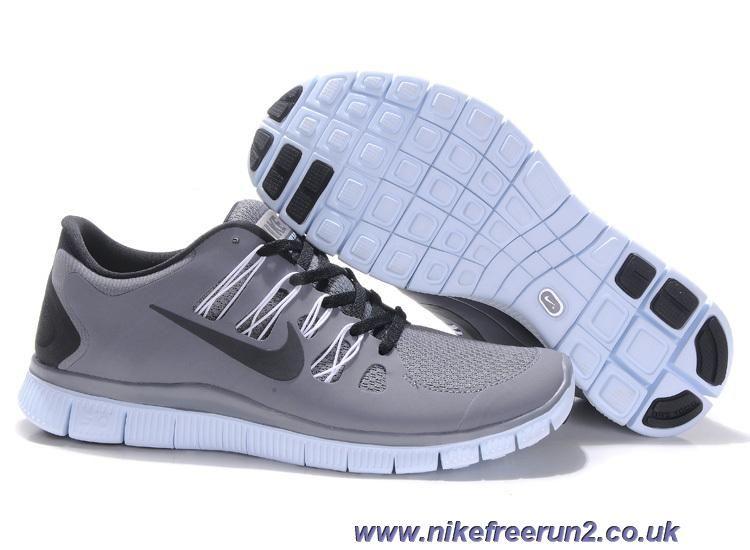 Nike Free 5.0 Mens Running Shoes Wolf Grey/Black/White 579959-188