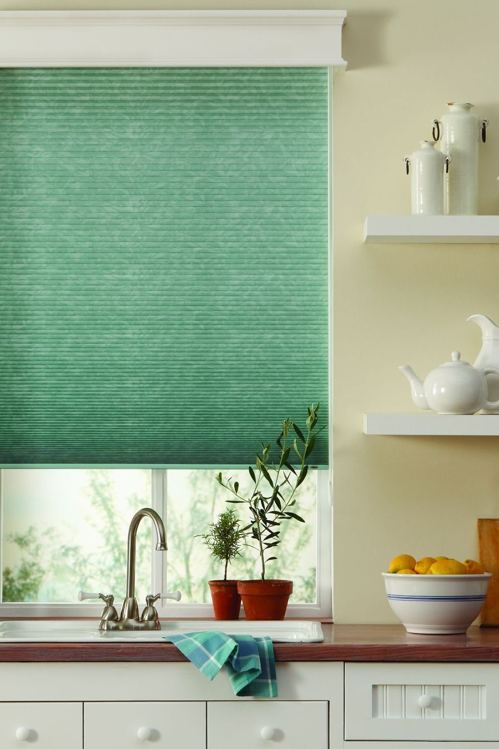 Kitchen Shades Large Sink Give Your Window A Burst Of Color With Cellular
