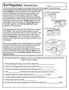 Earthquake Introduction and Famous Quakes   Earthquake ...