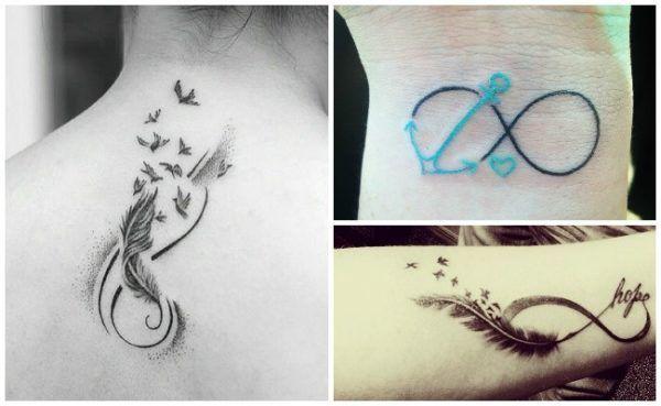 Tatuajes De Infinito Con Significado Ideas Y Disenos Tatuaje De Infinito Con Nombres Tatuajes De Infinito Infinitos Con Nombres