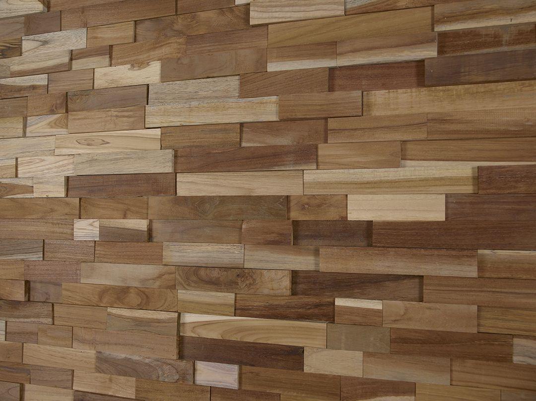 Wandverkleidung Holz, Modell Teak Malt, S. Fischbacher Living ...