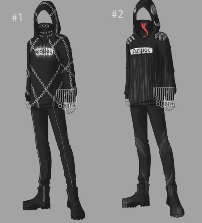 Anime outfits male drawing bakugoucosplay