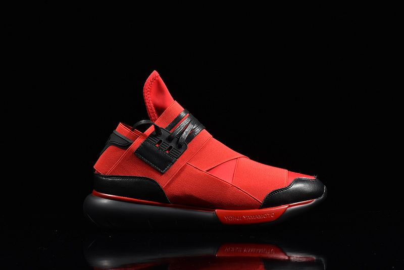 07af8bc11d295 Popular Adidas Y3 Qasa High Yohji Yamamoto Rose Madder Black