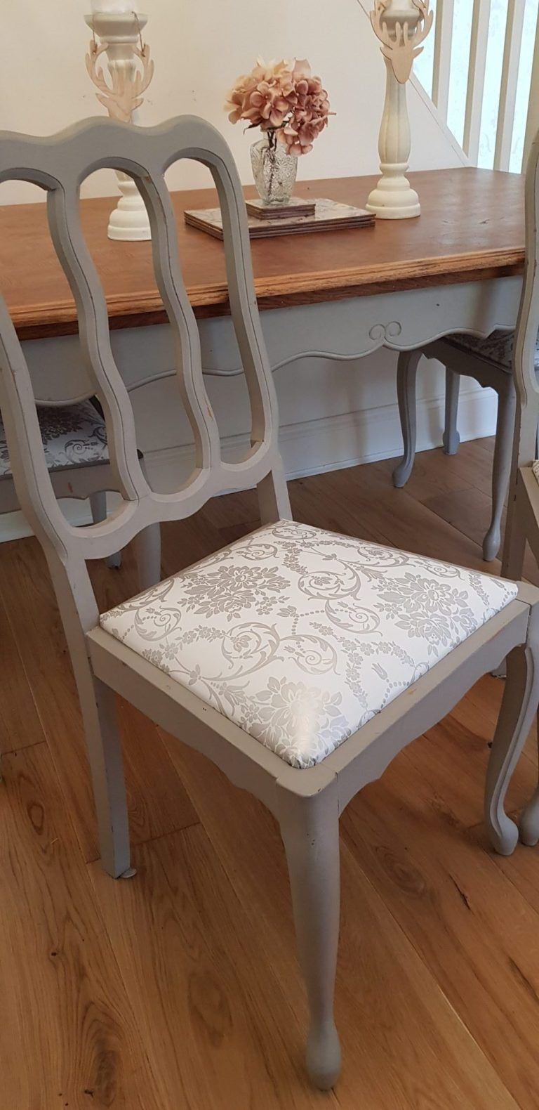 How to reupholster dining table chair covers in 6 easy