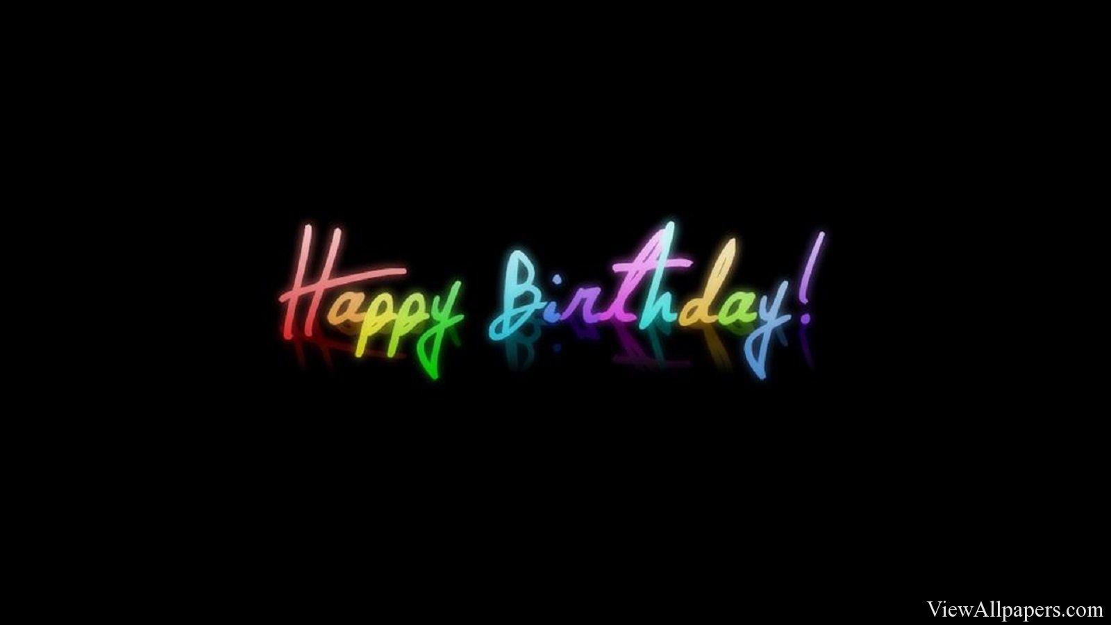 Happy Birthday Black Background Happy Birthday Black Happy