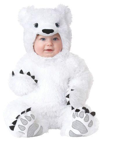 Infant White Polar Bear Costume Halloween  sc 1 st  Pinterest & Infant White Polar Bear Costume Halloween | Too Cute | Pinterest ...