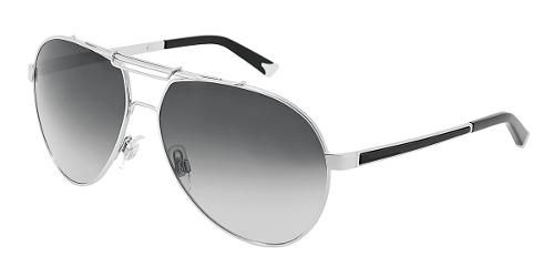 63365e4b685f Dolce   Gabbana Eyewear  model 2105 - Men Sunglasses Collection. Pilot with Silver  Frame and Gray Lens.