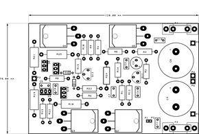 300 Watt Mosfet Real Hi Fi Power Amplifier Amp Electronics Diy