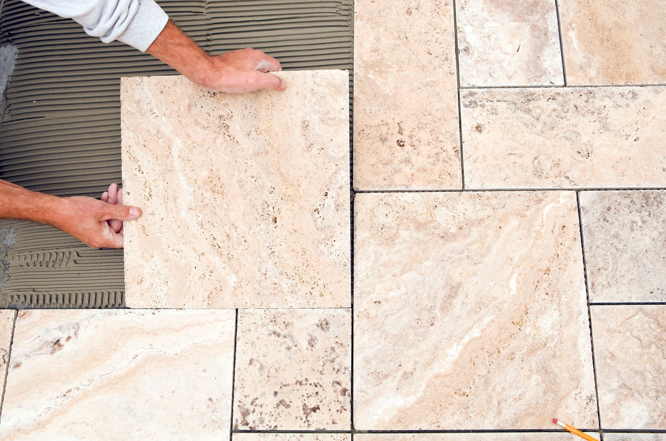 Tips For Laying Tile On Plywood Subfloor In 2020 Patio Tiles Ceramic Floor Tiles Tile Installation