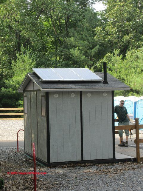 cattle ranch outhouse