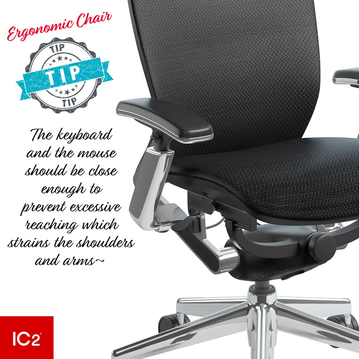 Cool Ic2 4D Armrests Are Height And Width Adjustable With Theyellowbook Wood Chair Design Ideas Theyellowbookinfo
