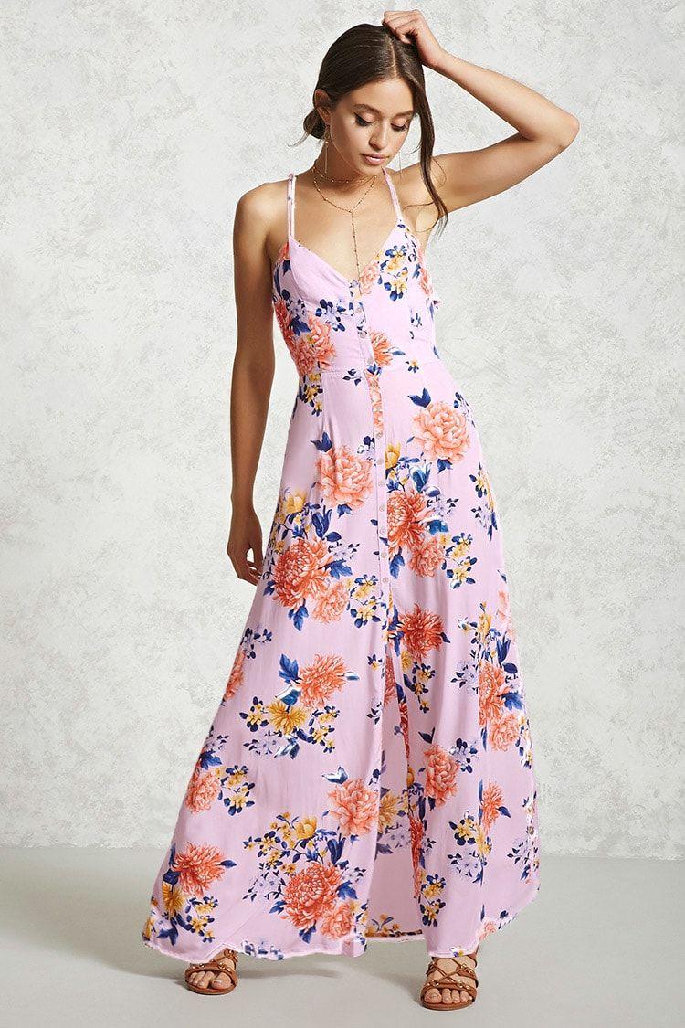Vestido maxi flores | O | Pinterest | Cuerpo, Flores y Vestiditos