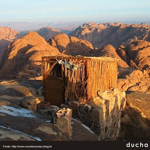 Monte Sinai – Egito | Banheiros | Paisagens e Egito