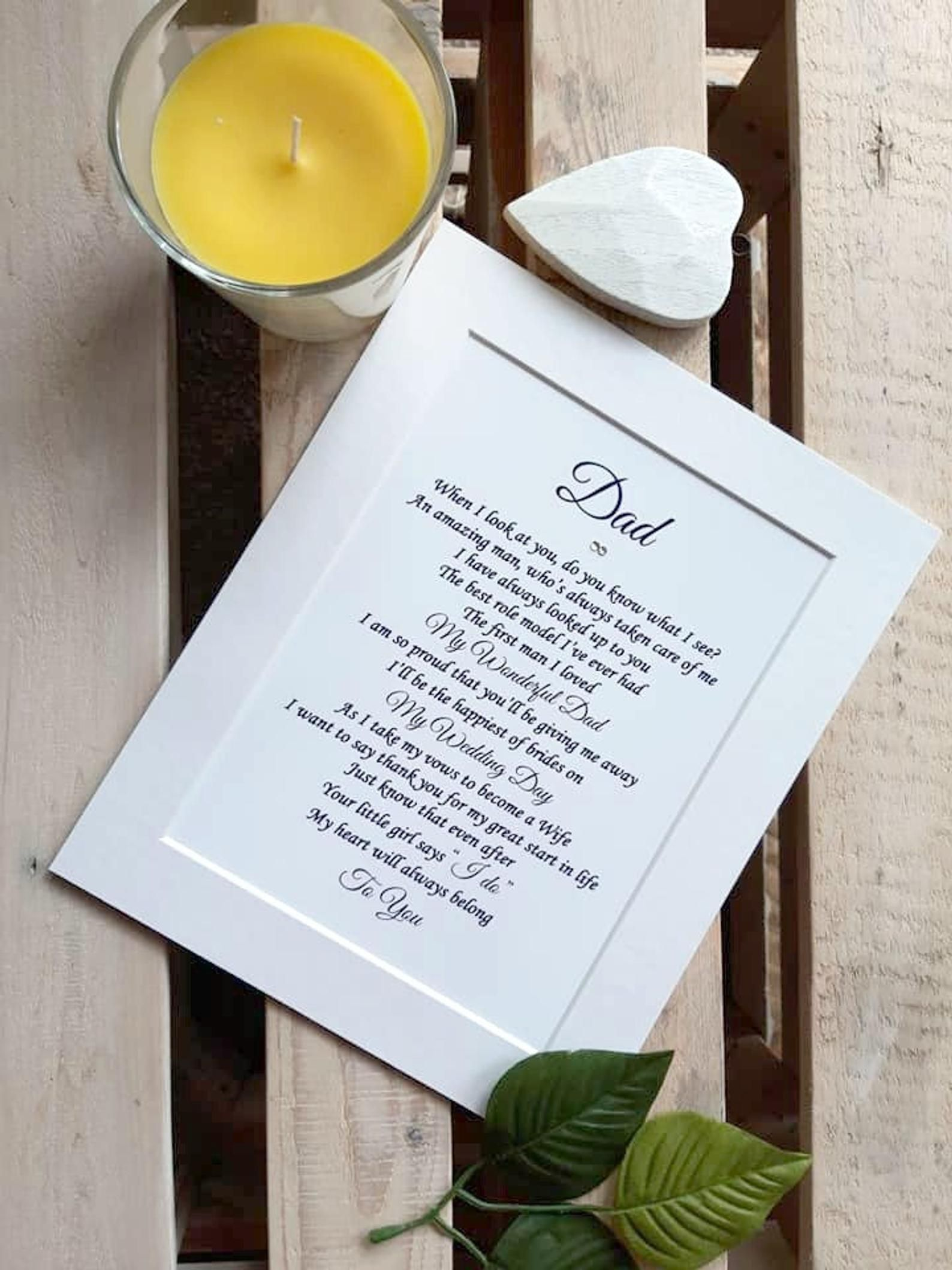 15++ Wedding gifts for dad from bride ideas