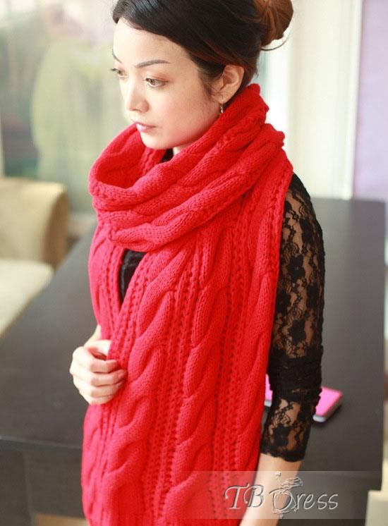 Modern New Arrival Hot Selling Korean Woolen Yarn Scarf