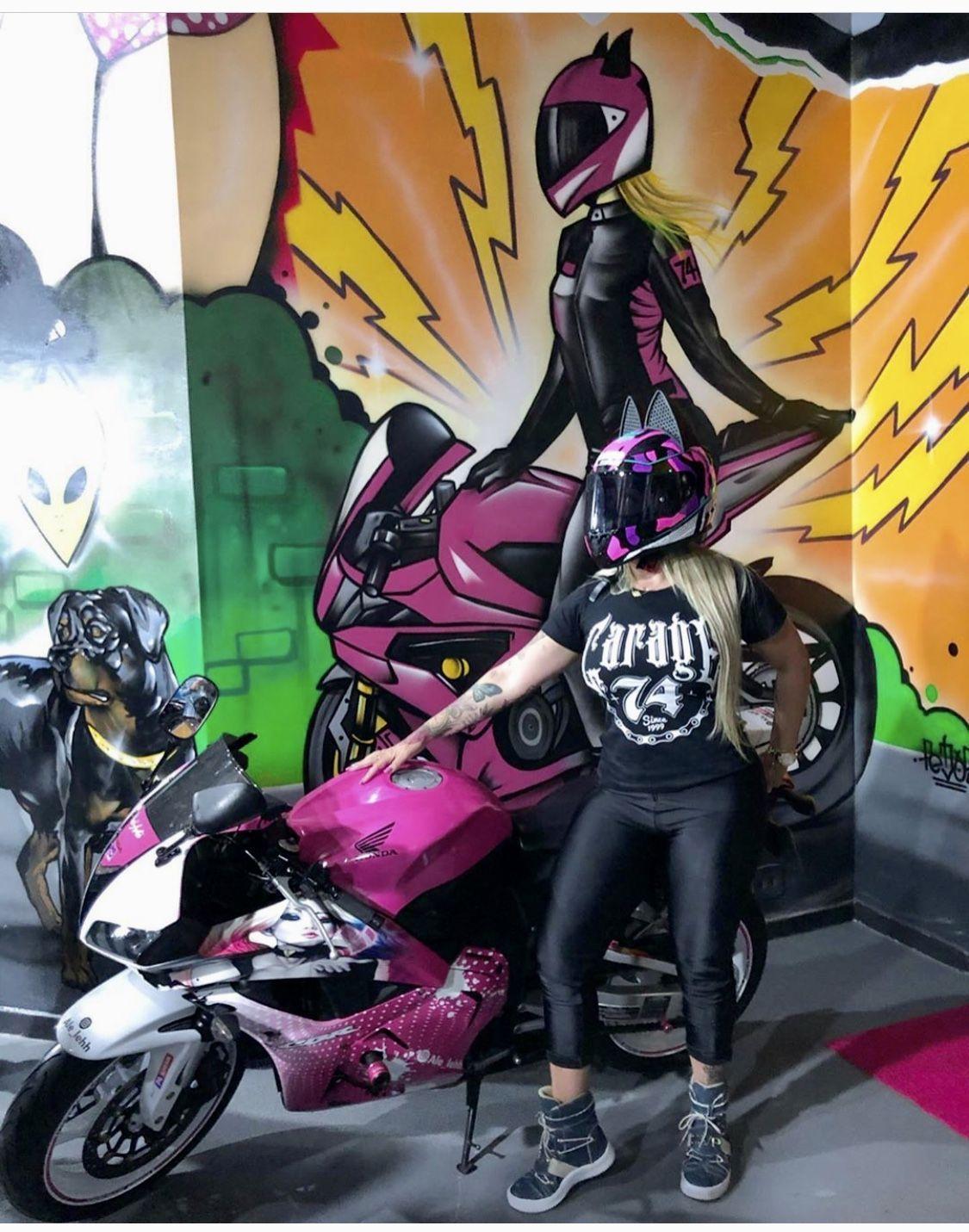 Cat Ear Motorcycle Helmet Motokitties motokitties