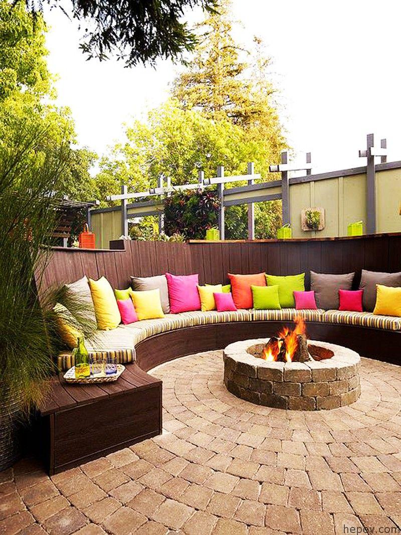 Bahçenizi Süsleyecek Yangın Çukurları Tasarımları #backyardpatiodesigns