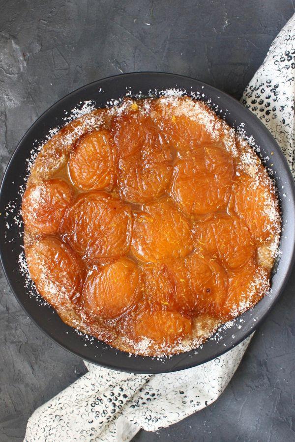 Photo of Apricot Tarte Tatin with Lemon Caramel