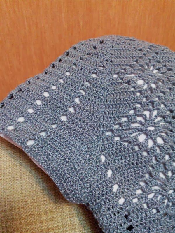 crochelinhasagulhas: Vestido manga longa em crochê