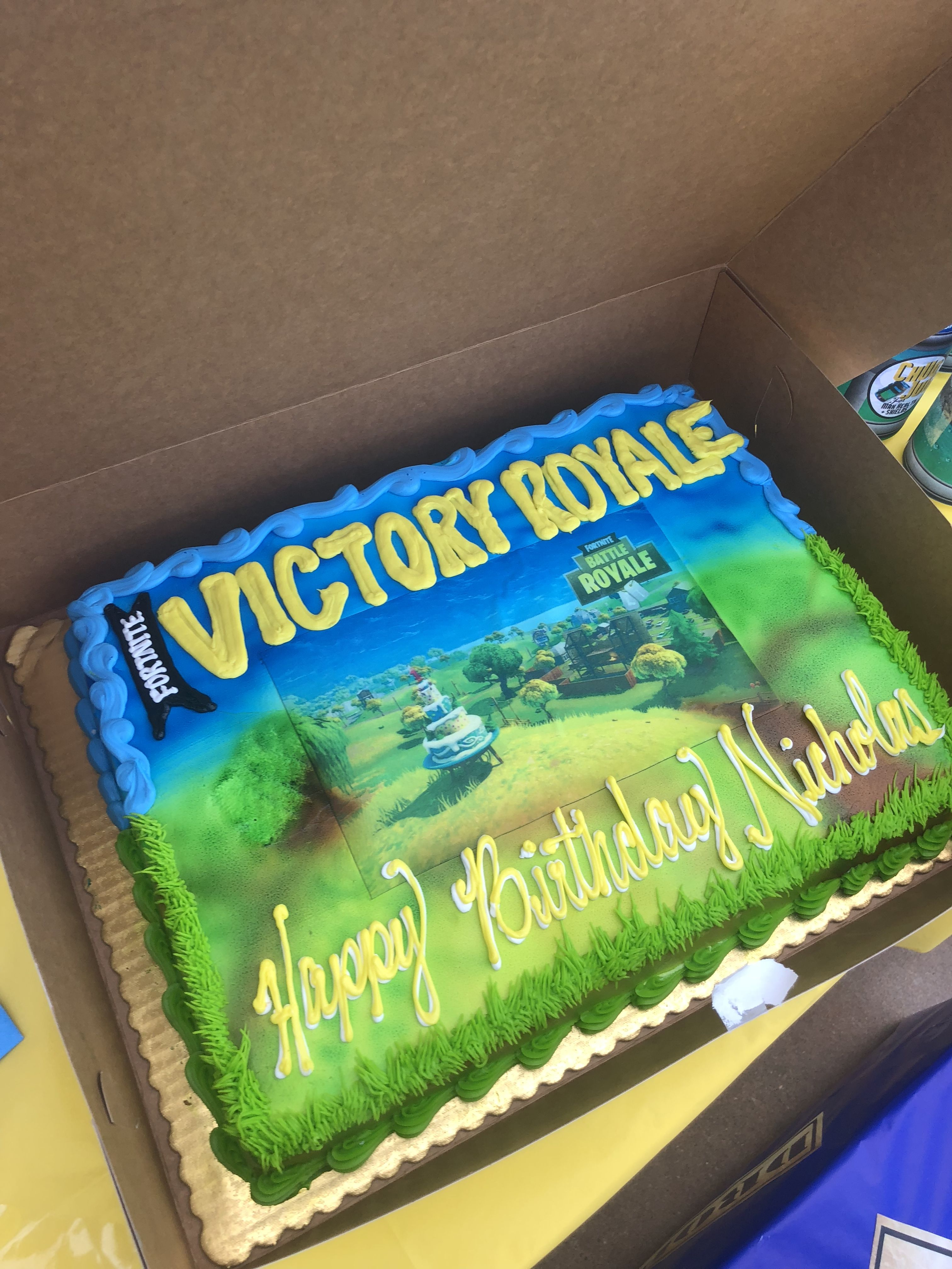 Pin On Nick S Fortnite 11th Bday