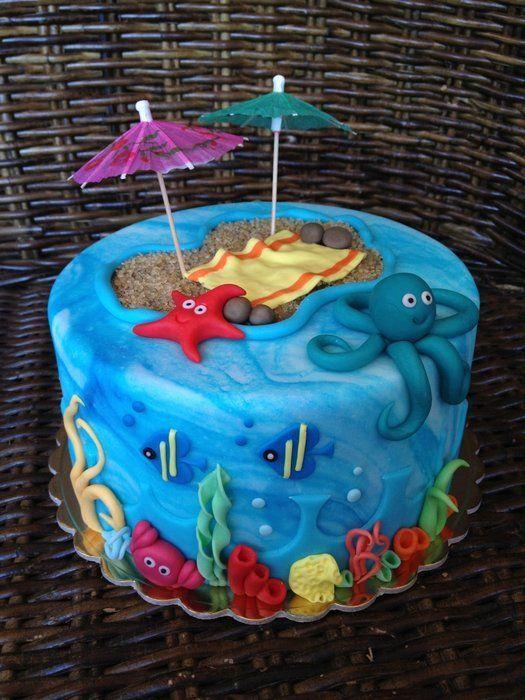 under the sea cake ideas   Under the sea...