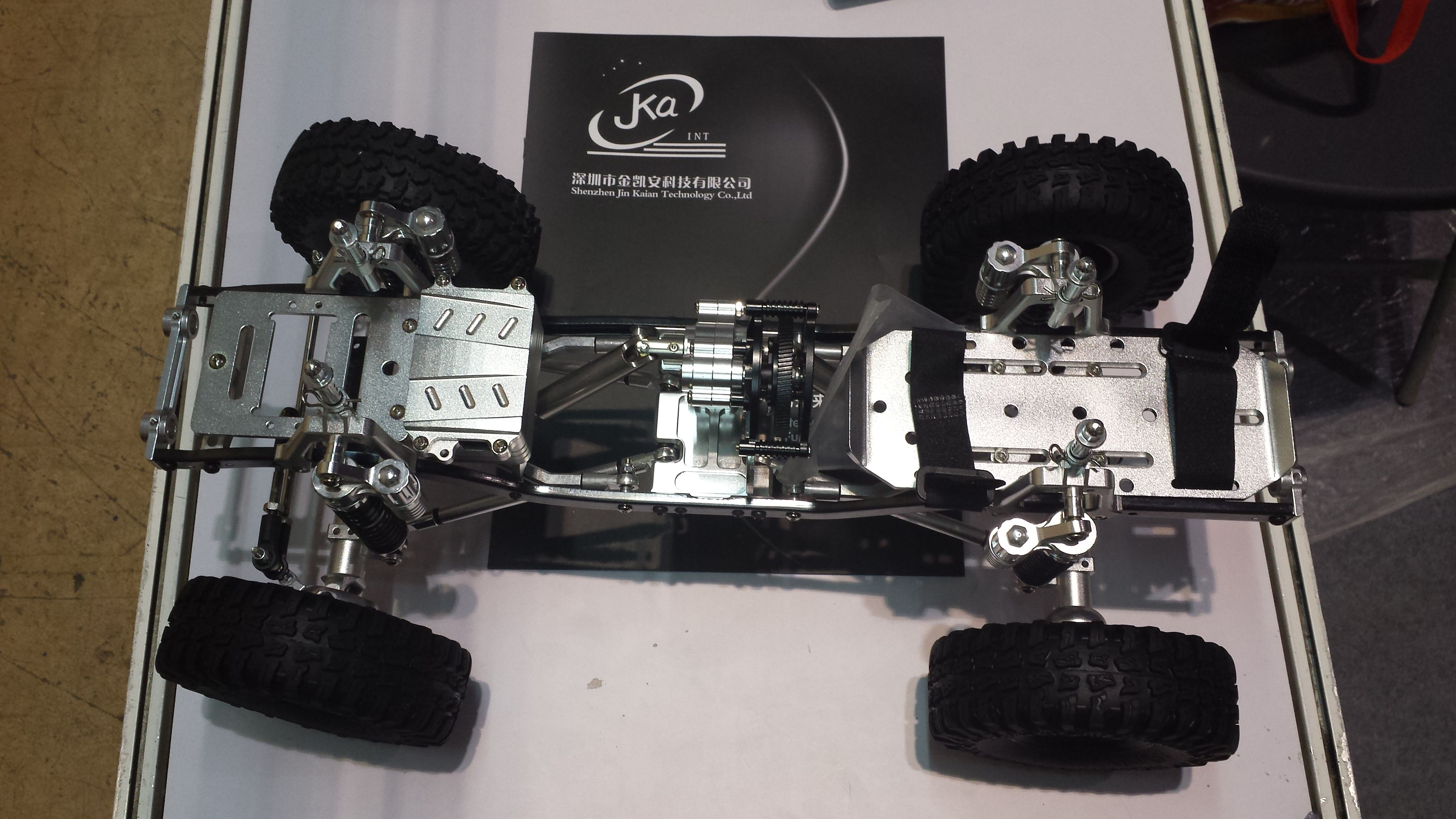 CNC full aluminum alloy axial scx10 chassis kit | rc crawler