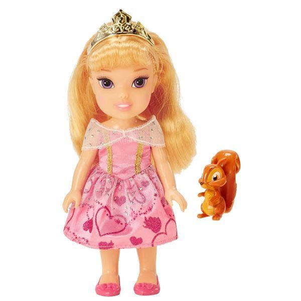 Disney Princess Petite Aurora and Squirrel NEW!